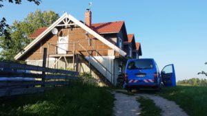 Neubau auf der alten Hofstelle in Kühlberg, bzw. Lysogora