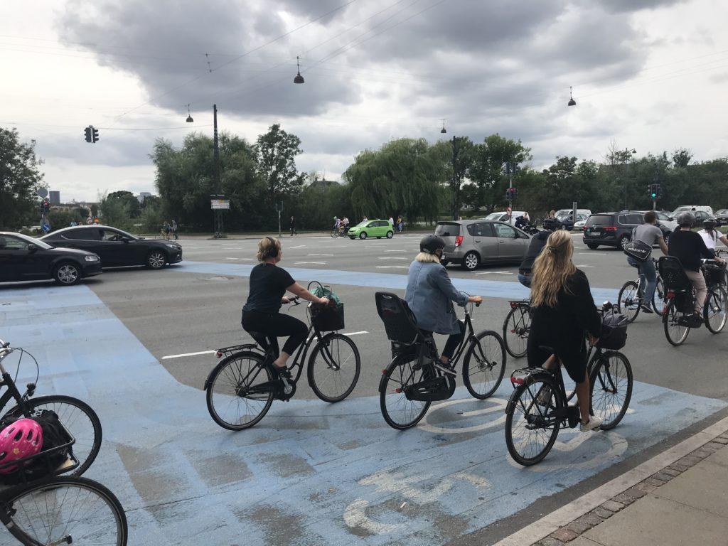 Kreuzung in Kopenhagen