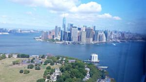 Govenors Island liegt unmittelbar vor der Halninsel Manhattan und einen Steinwurf von Brookyn entfernt