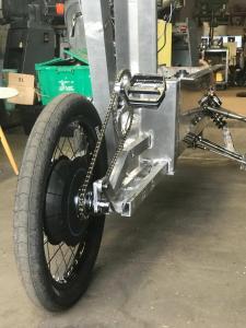 Aber auch die Aluminiumkonstruktion unterscheidet das neu Bike von den Vorgängern