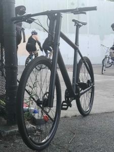 Beim Bikepolo nur Zuschauer