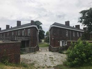 Das Fort aus dem 19. Jahrhundert wird gerade wieder hergerichtet