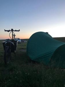 Camping am Deich