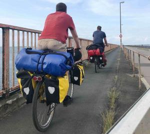 Inselhopping: wir fahren von Süden Richtung Nordosten durch Dänemark
