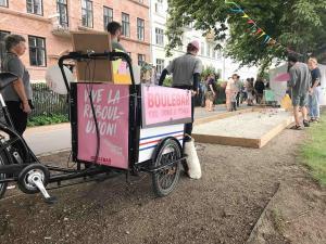 Radkultur in Kopenhagen: Transporträder gehören wie selbstverständlich dazu